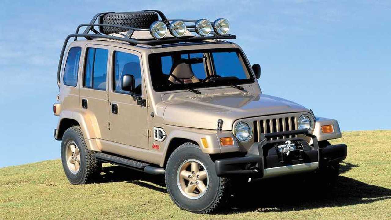 Copertina concept Jeep Wrangler Dakar