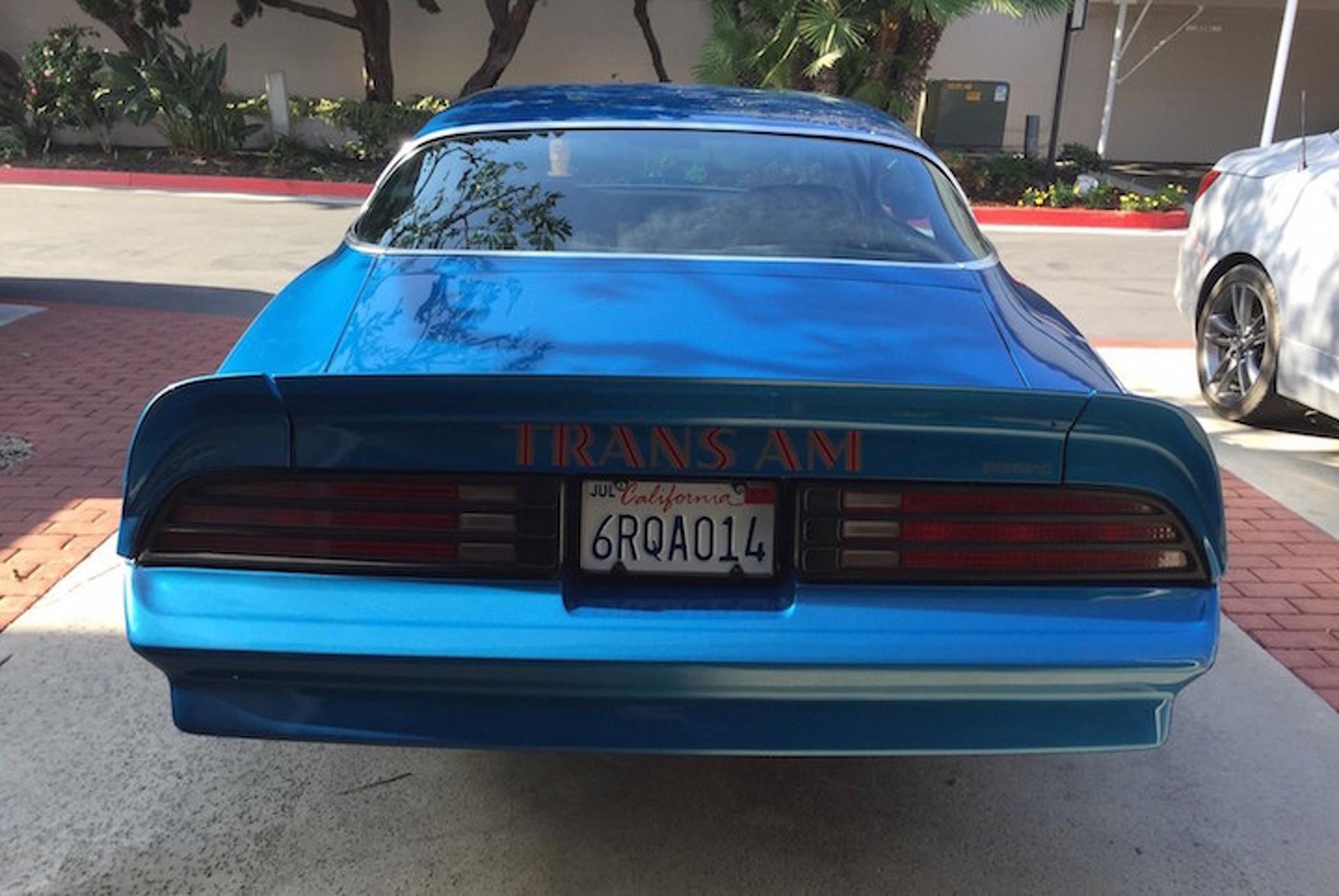 Brilliant Blue 1978 Pontiac Trans Am Needs A New Home 1975