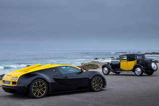 Bugatti Veyron 1 of 1 Proves they Aren't Done Yet: Pebble Beach