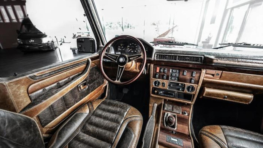 1990 Mercedes-Benz G-Class receives vintage theme from Carlex Design