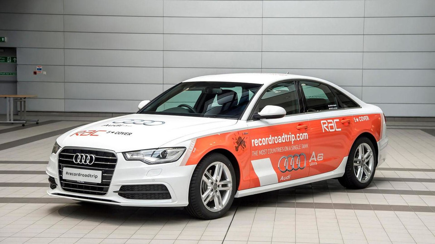 Audi A6 2.0 TDI ultra to attempt to set a new Guinness World Record