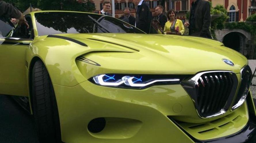 BMW 3.0 CSL Hommage photographed at Concorso d'Eleganza Villa d'Este
