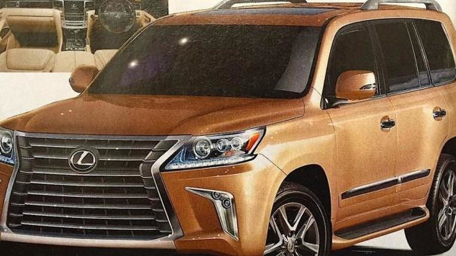 Lexus LX 570 News Articles and Press Releases