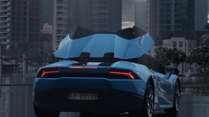 "Lamborghini Huracan Spyder ad shows what they meant with ""the sky will never be the same"" [video]"