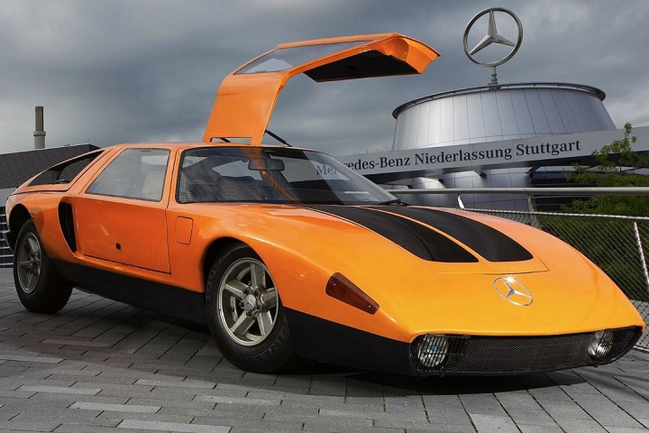 The Record-Breaking Mercedes-Benz C111 Prototype