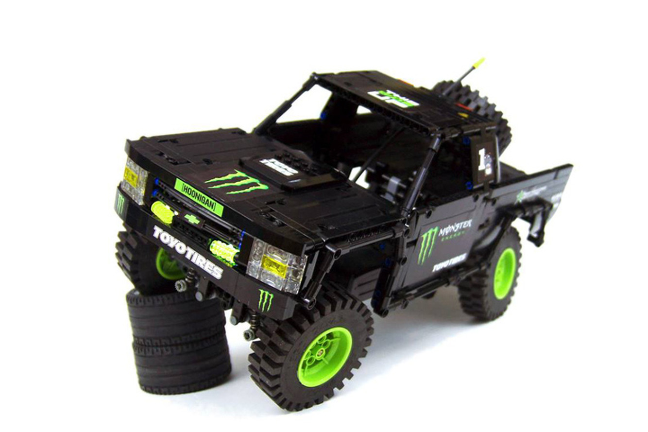 Monster Energy Trophy Truck Gets Reborn in LEGO, And It's Amazing