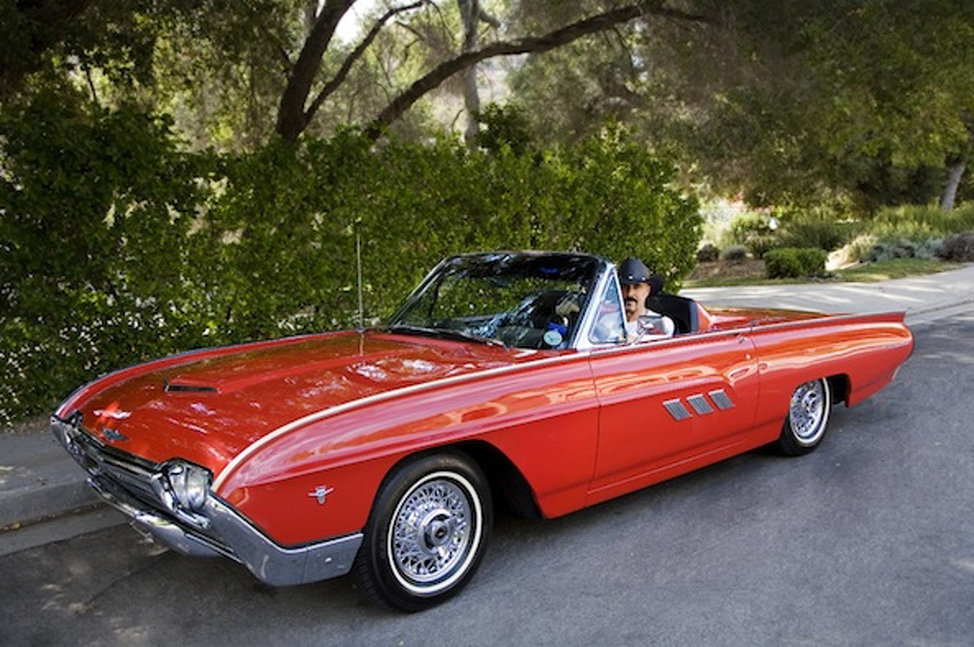 Your ride 1963 ford thunderbird convertible