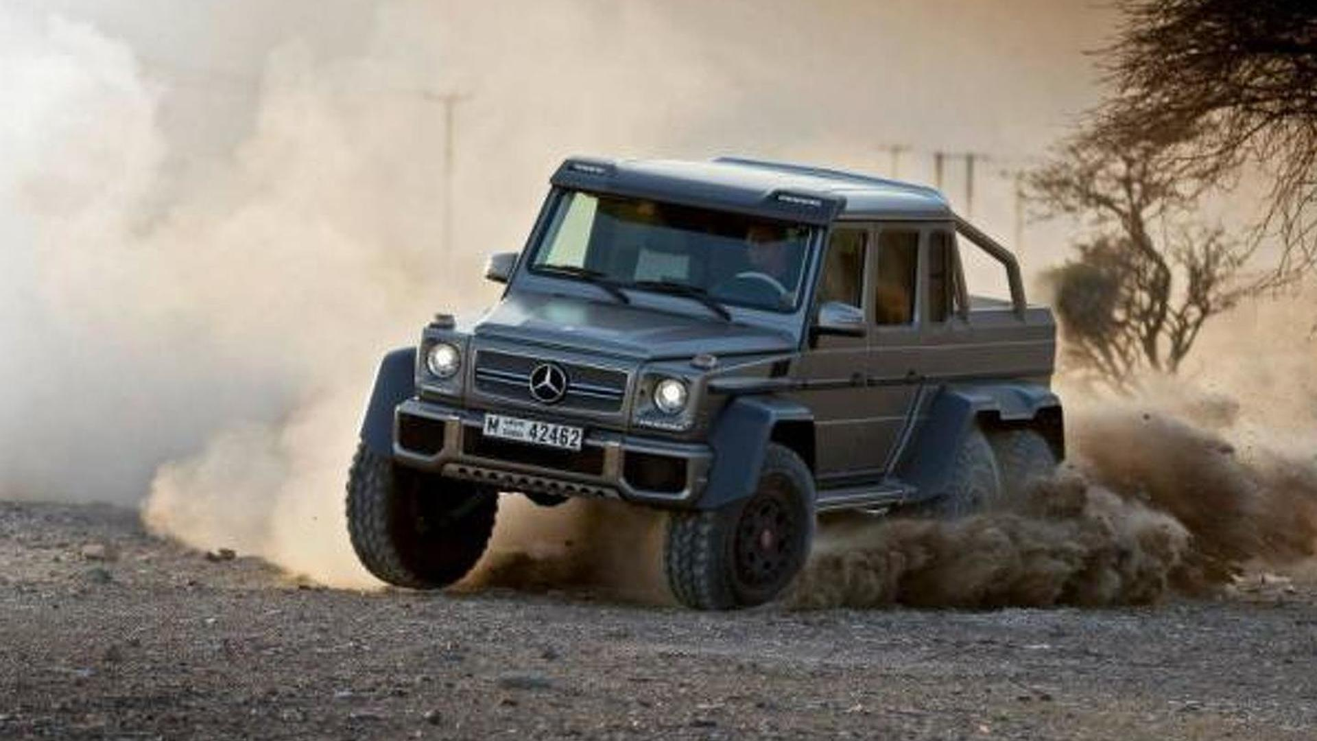 Texas Armoring Offers An Armored Mercedes G63 Amg 6x6 Costs 1 3 Million