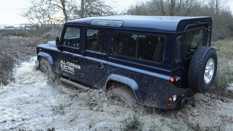 Electric Land Rover Defender heading to Geneva