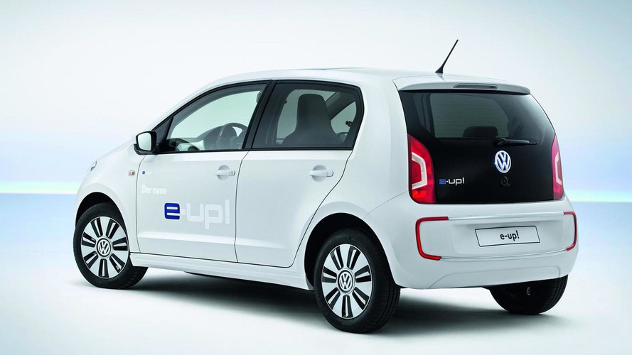 Volkswagen unveils all-electric e-up!