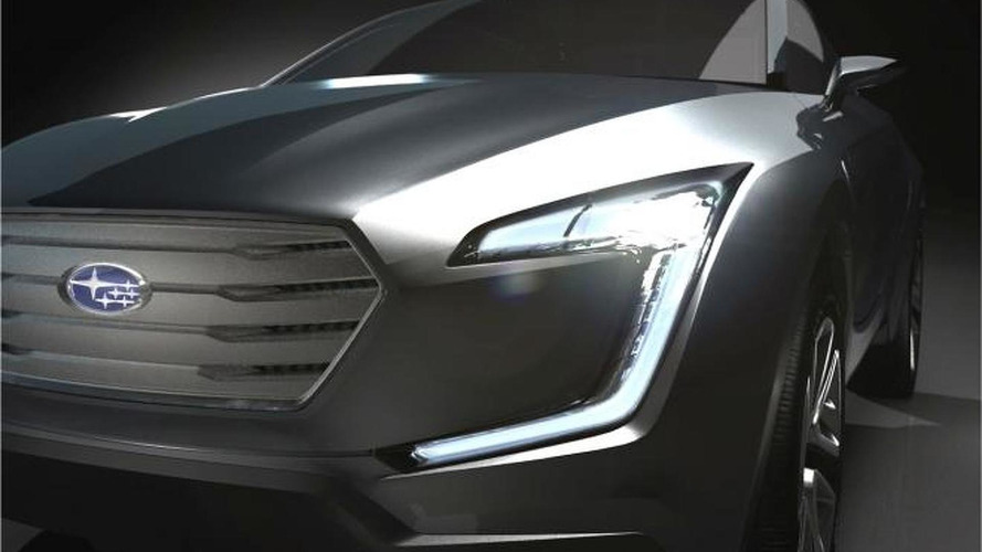 Viziv's angular front fascia to be carried across Subaru lineup