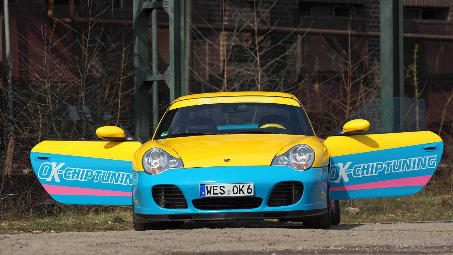 Porsche 996 Modified By Ok Chiptuning