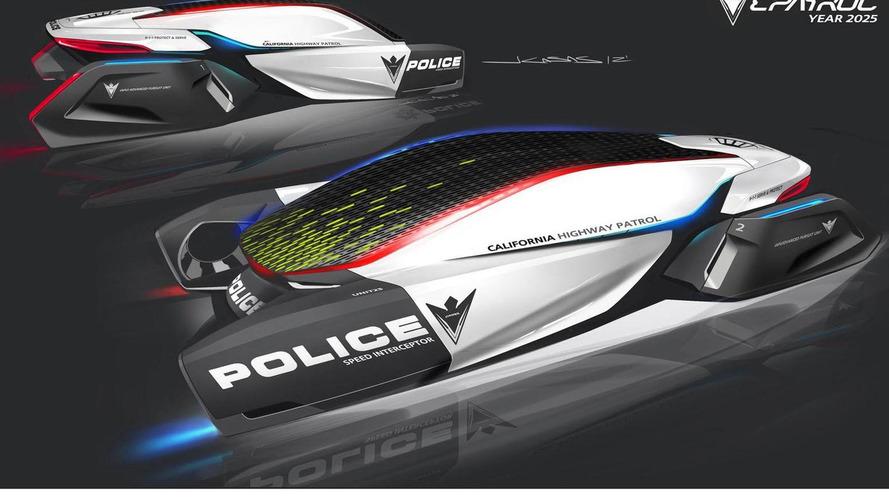 BMW ePatrol concept for 2012 L.A. Auto Show Design Challenege 19.11.2012