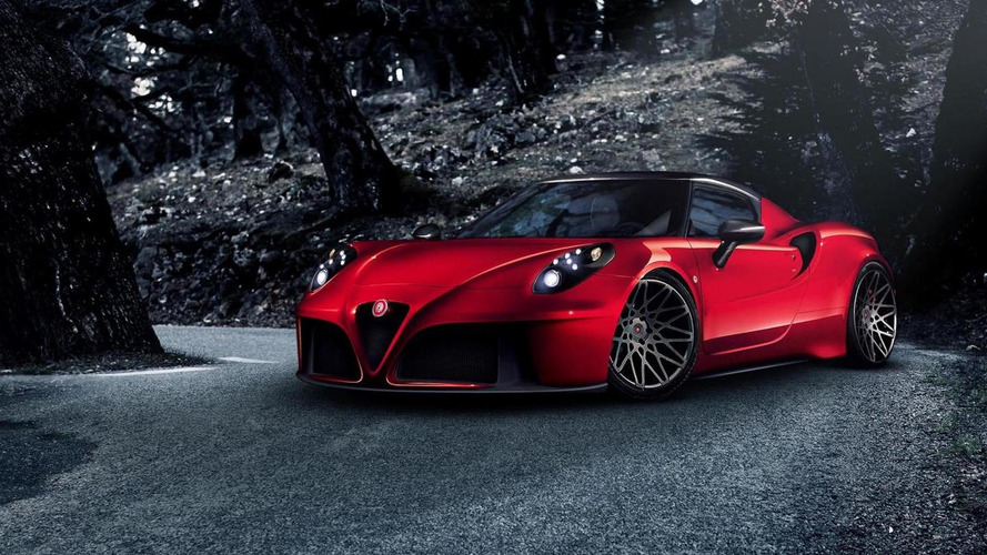 Alfa Romeo 4C already tweaked by Pogea Racing