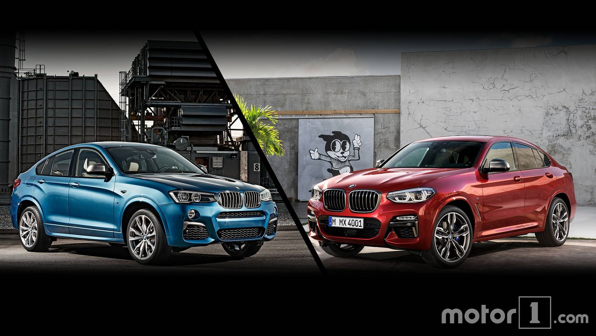 2020 BMW X4 Redesign, M40i, M Package >> 2019 Bmw X4 See The Changes Side By Side