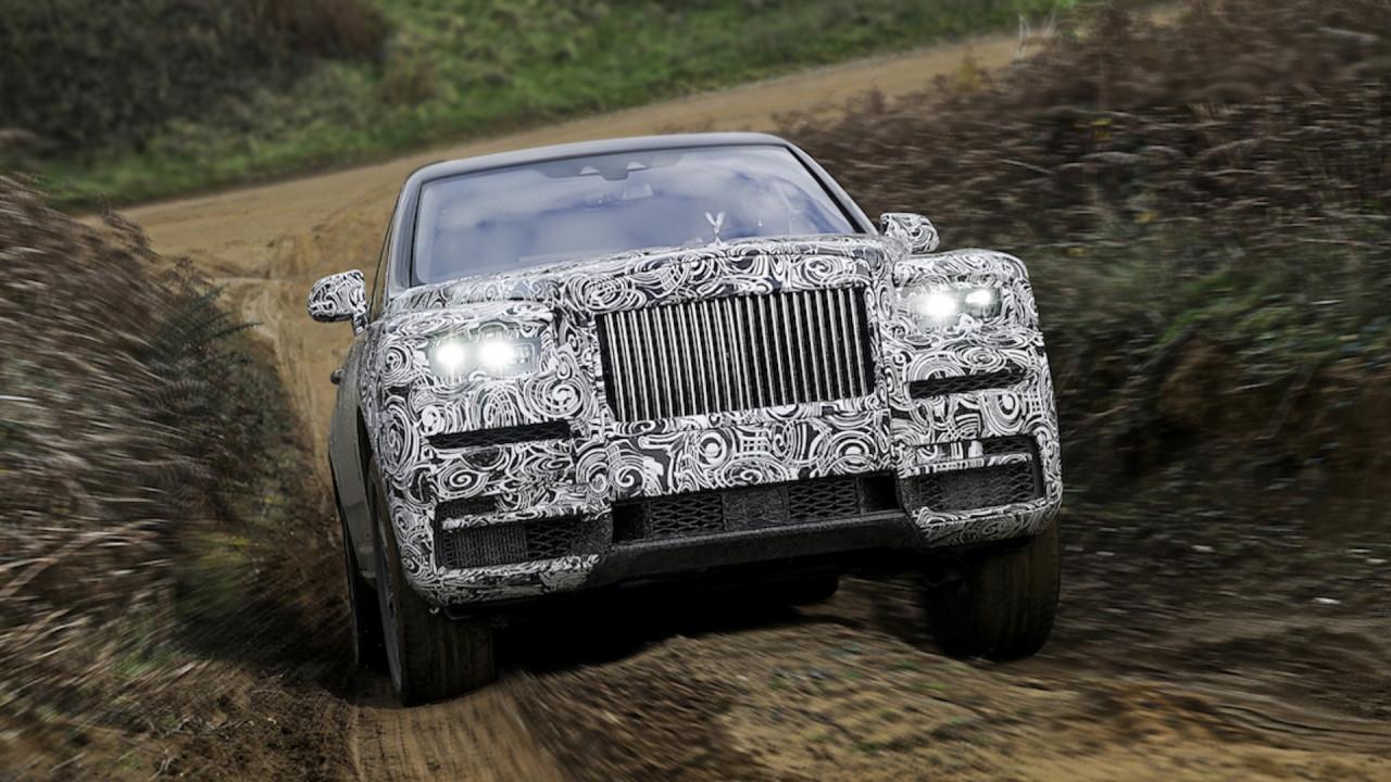 [Copertina] - Rolls Royce Cullinan, un diamante e un SUV sono per sempre