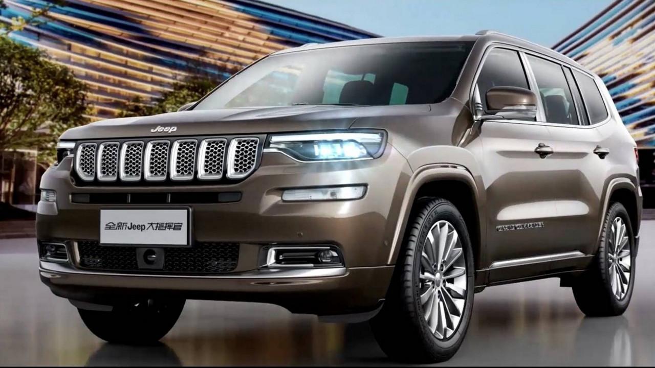 [Copertina] - Jeep Grand Commander, il SUV 7 posti per la Cina
