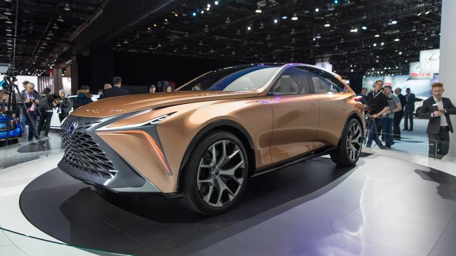 Lexus'un, Lamborghini Urus'a rakip hazırladığı söyleniyor