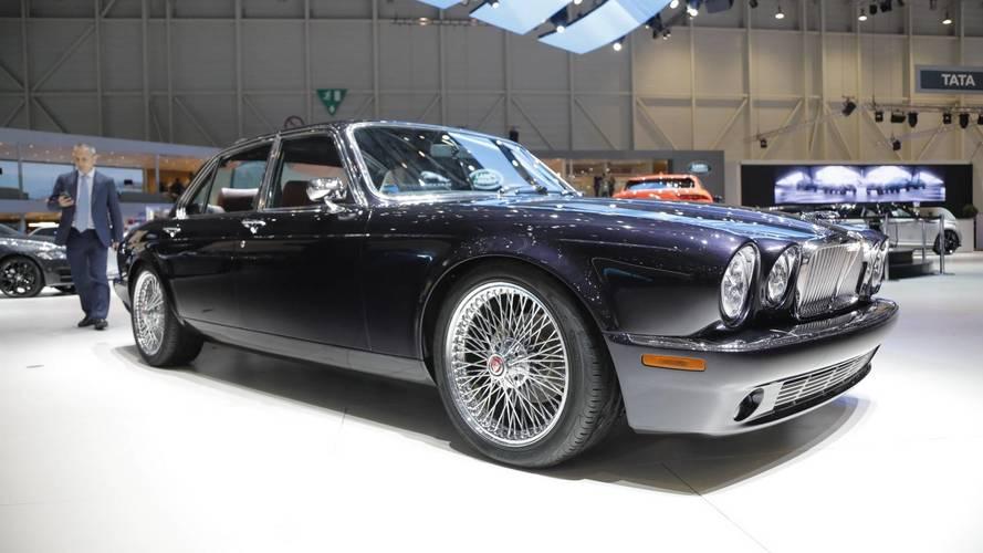 gen ve 2018 l 39 incroyable jaguar xj6 du batteur d 39 iron maiden. Black Bedroom Furniture Sets. Home Design Ideas