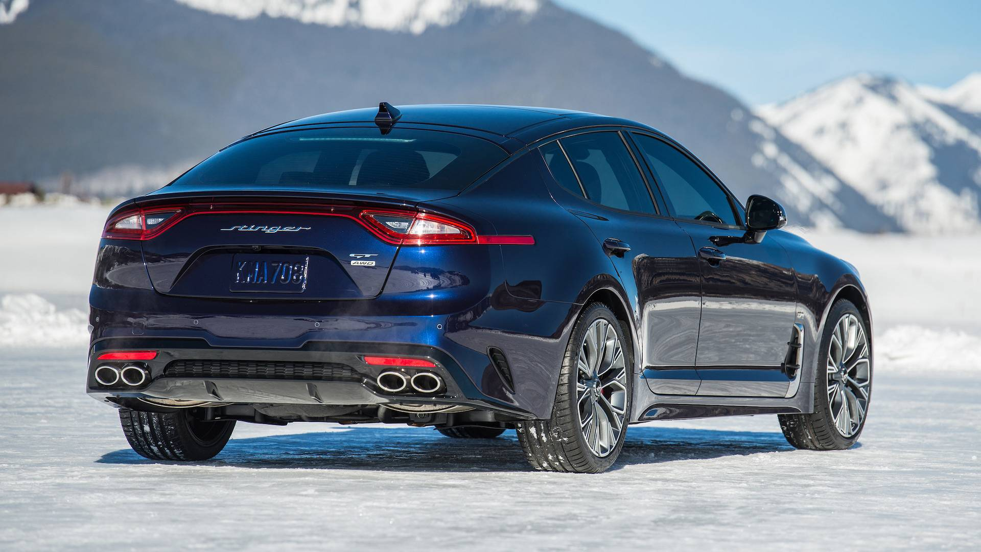 2019 Kia Stinger Gt Adds 500 Unit Atlantica Special Edition