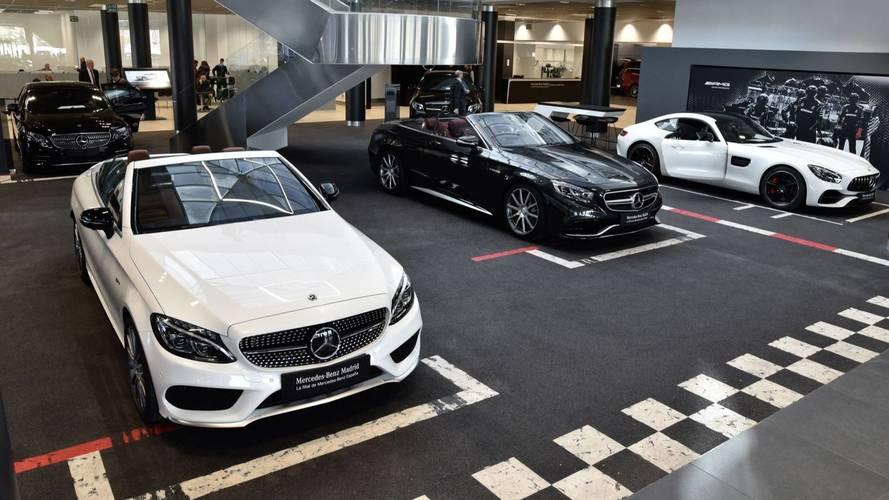 Mercedes-Benz Flagship Store, en Madrid