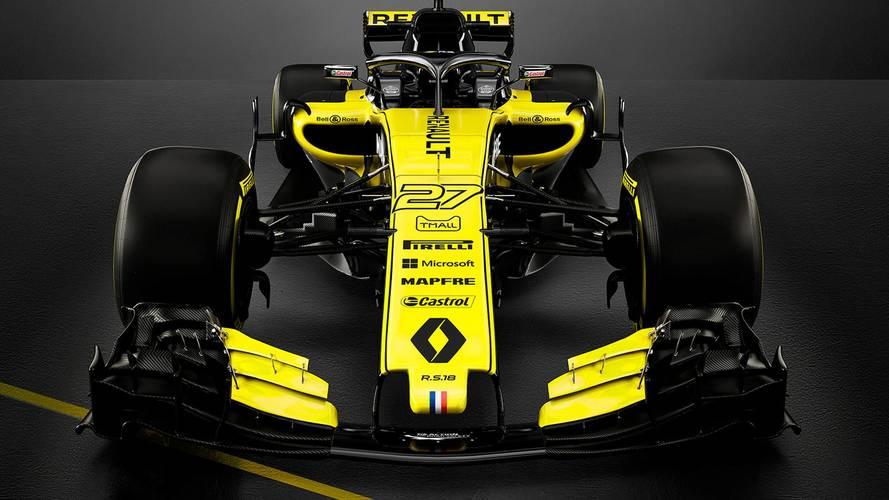 Renault F1 Team RS18, temporada 2018