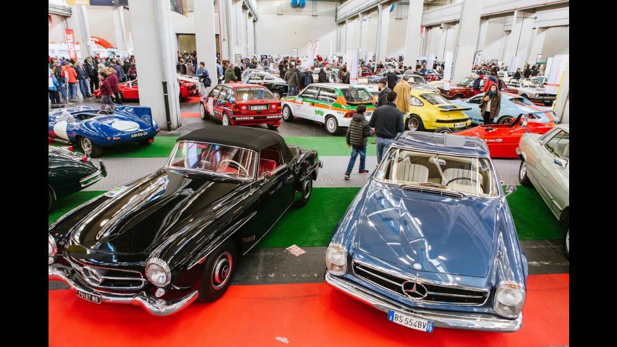 Automotoretrò 2018, a Torino è già festa dei motori d'epoca