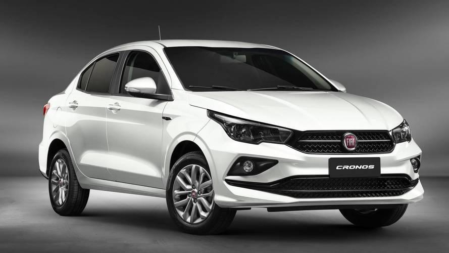 Fiat Cronos ganha controle de estabilidade (ESP) de série na Argentina