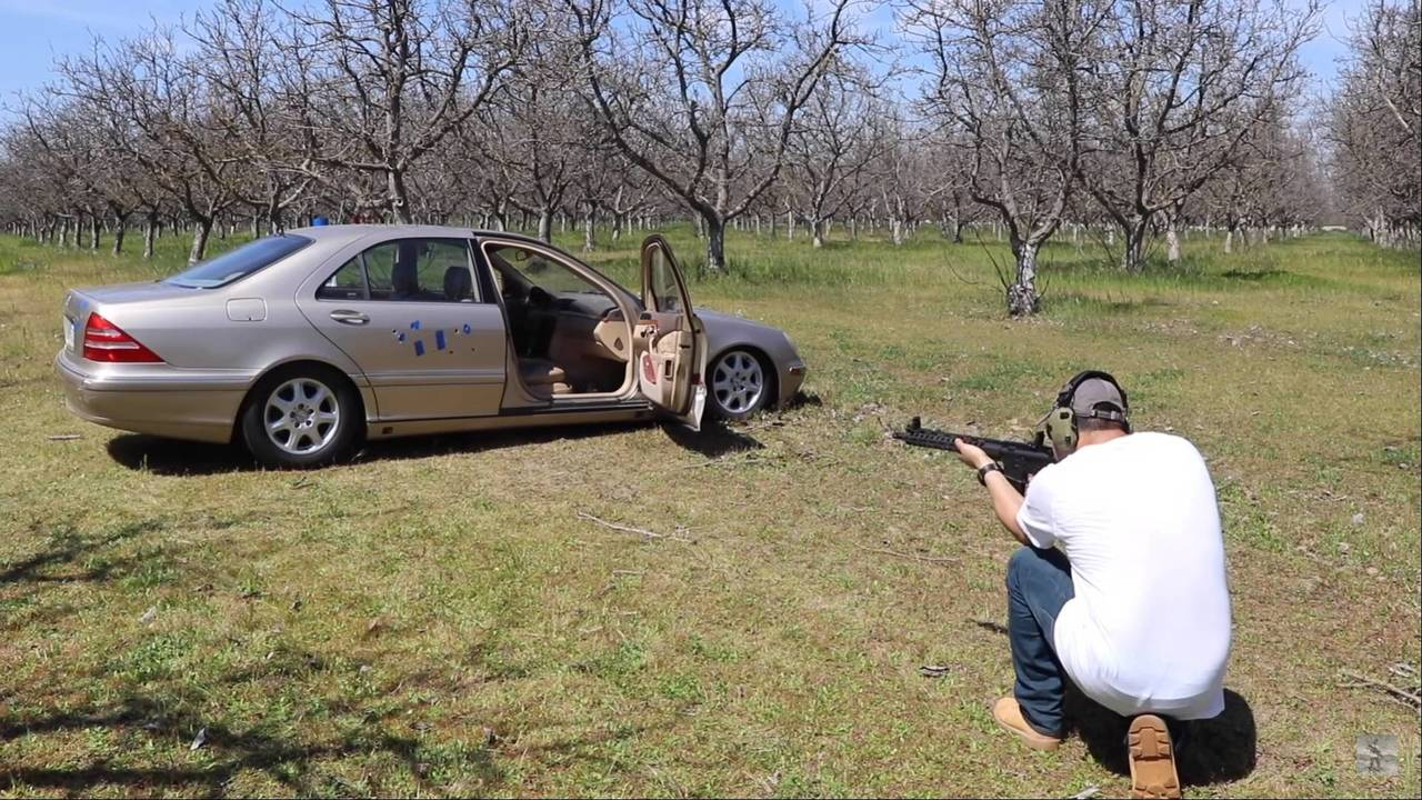 Mercedes S-Class Bulletproof