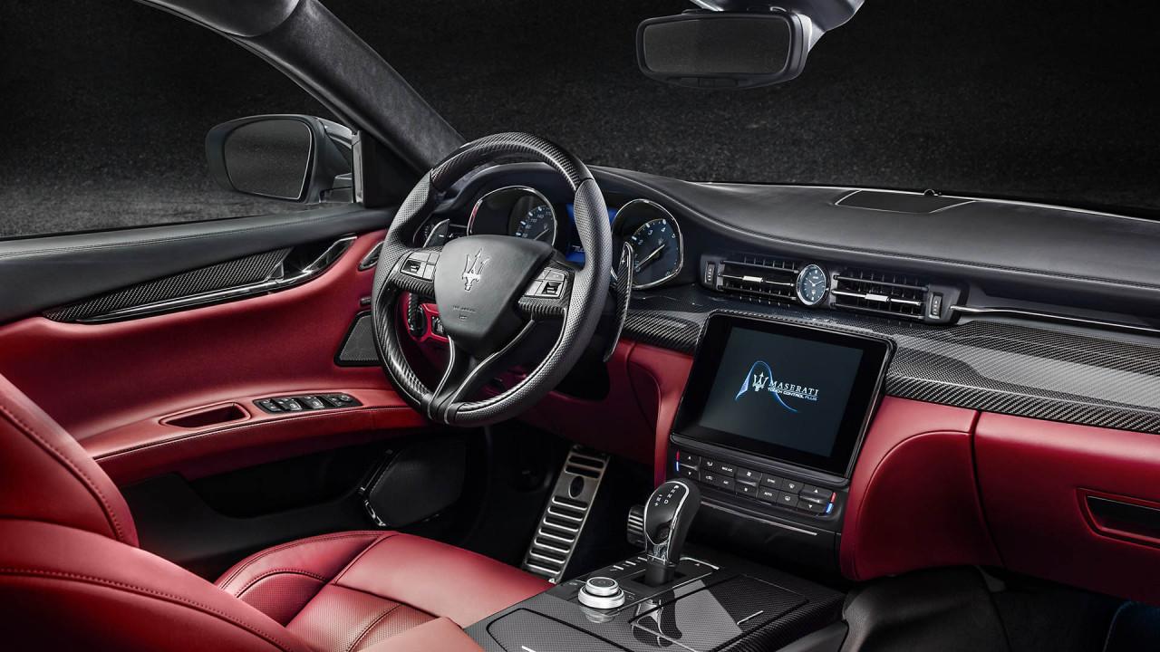 Maserati Quattroporte: Carbon-Paket-Interieur