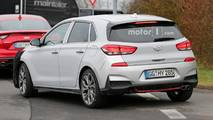 Hyundai i30 N-Line Spy Photos