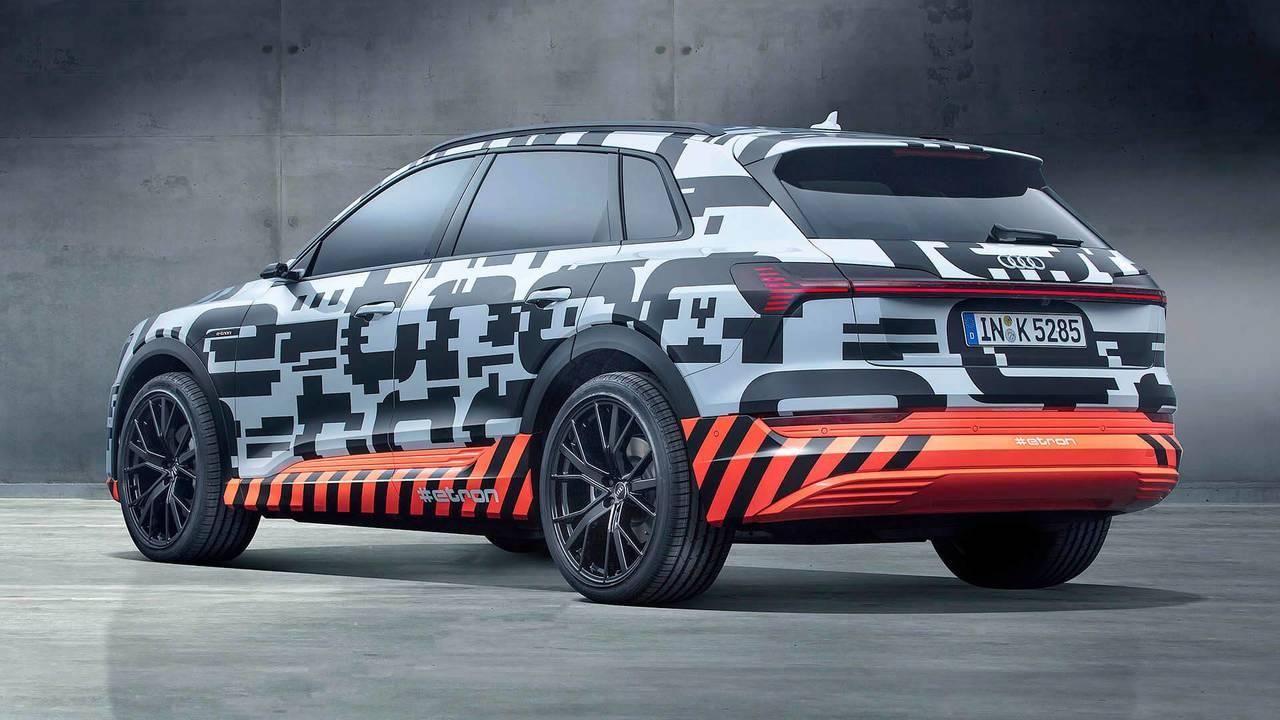 1.- Audi e-tron 2018