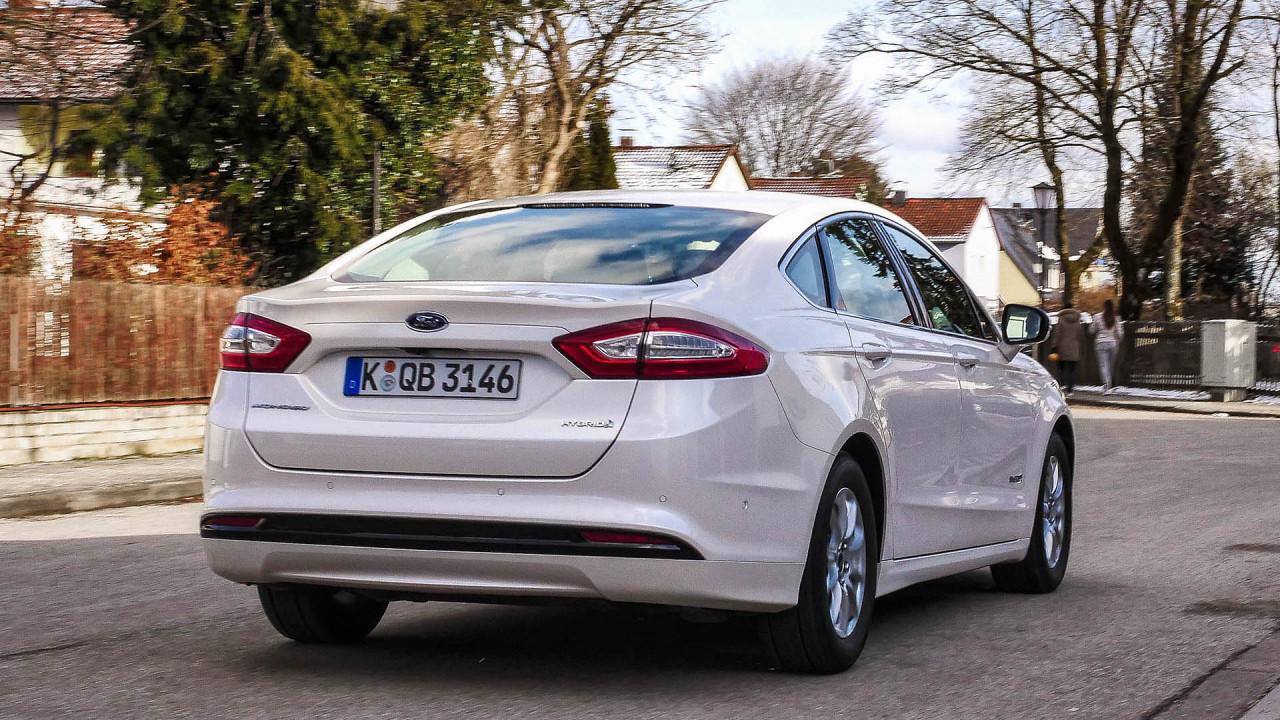 Test: Ford Mondeo Hybrid
