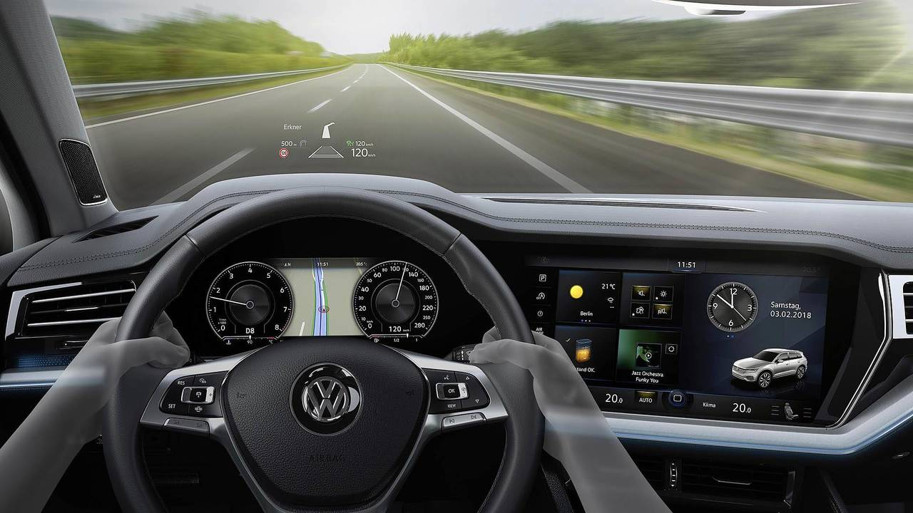 VW Details How The Touareg's High-Tech Anti-Roll Bars Boost