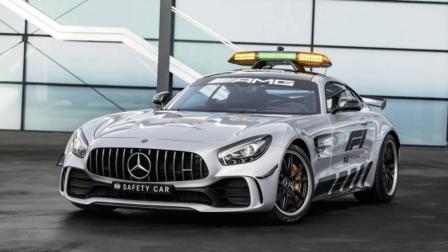 Mercedes-AMG GT R é revelado como Safety Car mais poderoso da história da F1