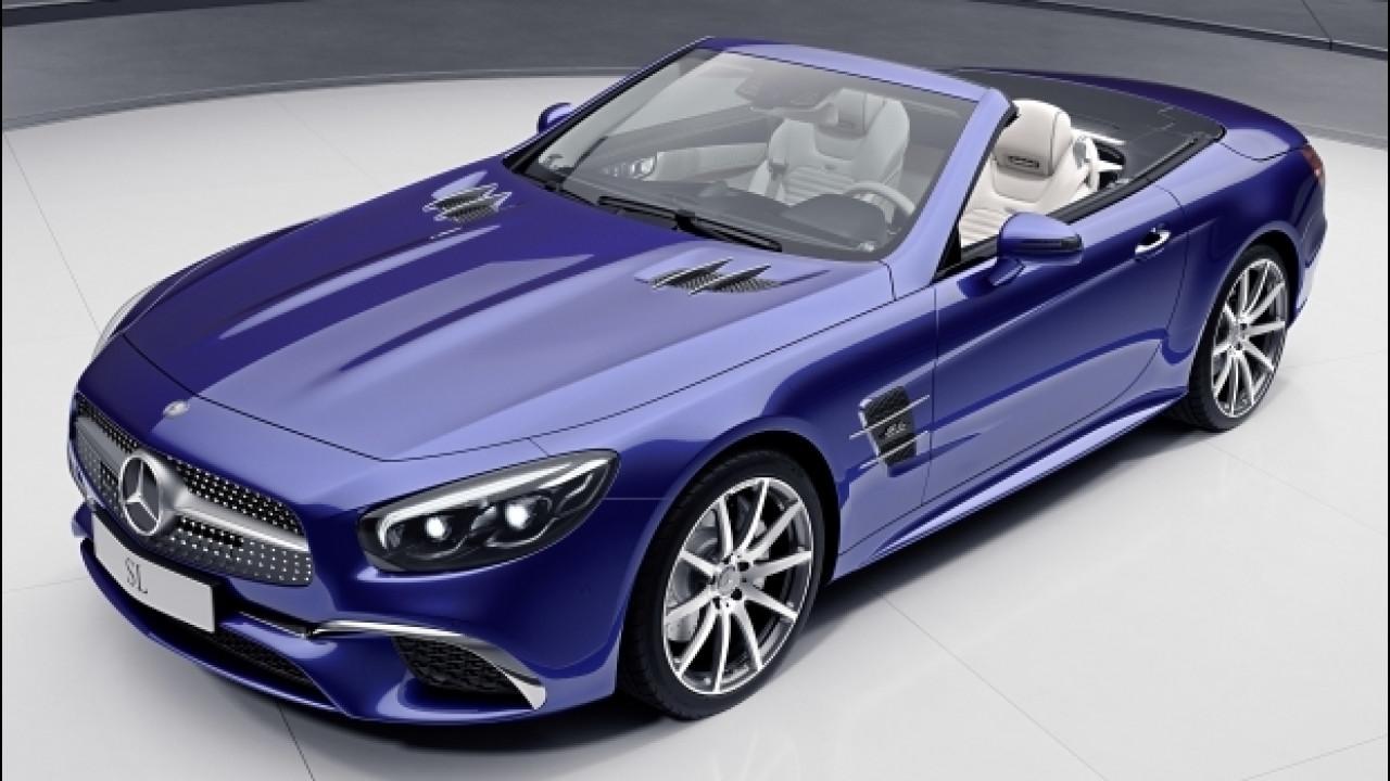[Copertina] - Mercedes, due edizioni speciali per SL e SLC