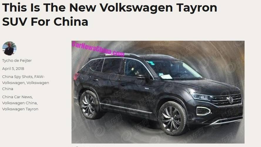 Volkswagen Tayron - Un nouveau SUV pour le marché chinois