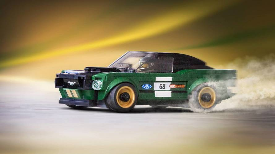 Latest Lego Speed Champions Set Puts A 1968 Mustang In Your Hand