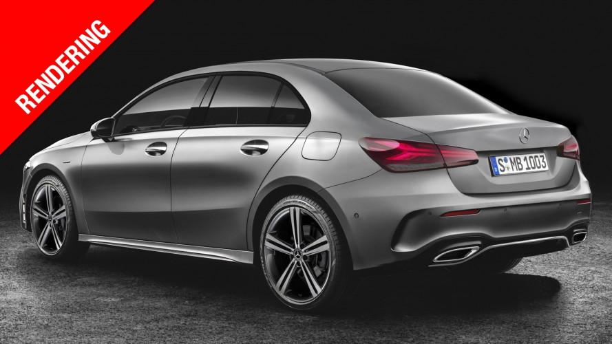 Mercedes Classe A berlina, compatta dal gusto classico