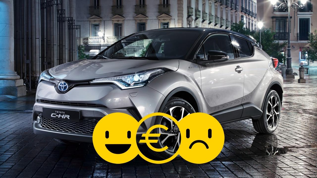 [Copertina] - Promozione Toyota CH-R Hybrid, perché conviene e perché no