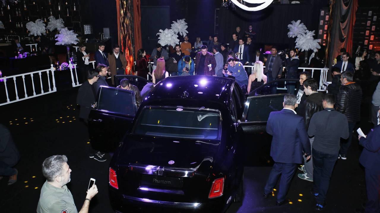 Rolls-Royce Phantom VIII Türkiye lansmanı