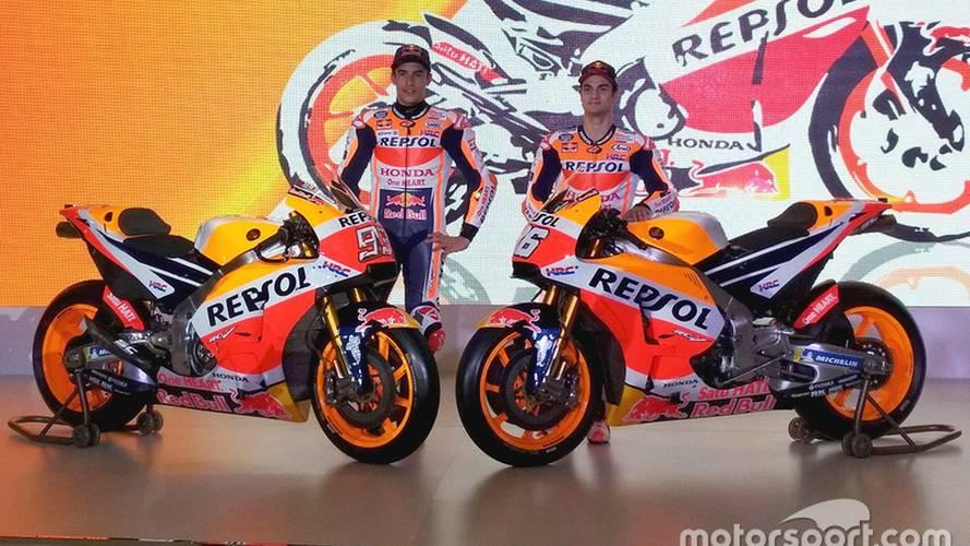 Honda presenta oficialmente, en Yakarta, la moto de Márquez y Pedrosa