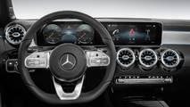 Mercedes Clase A 2018: teaser y fotos de interior