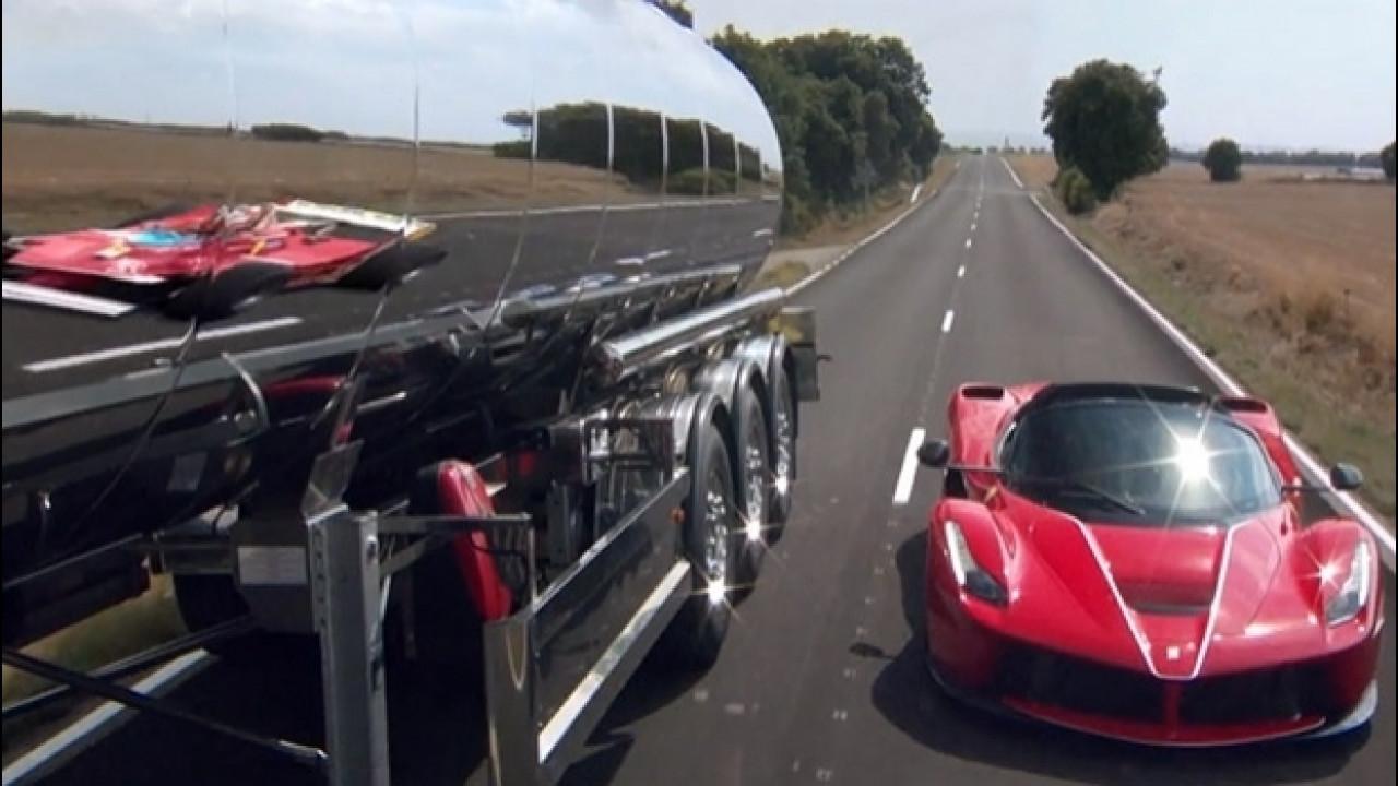 [Copertina] - LaFerrari Aperta, Vettel guida la storia delle Rosse [VIDEO]