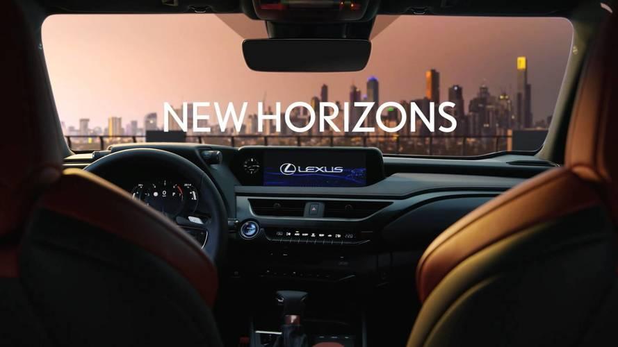 2019 Lexus UX teaser