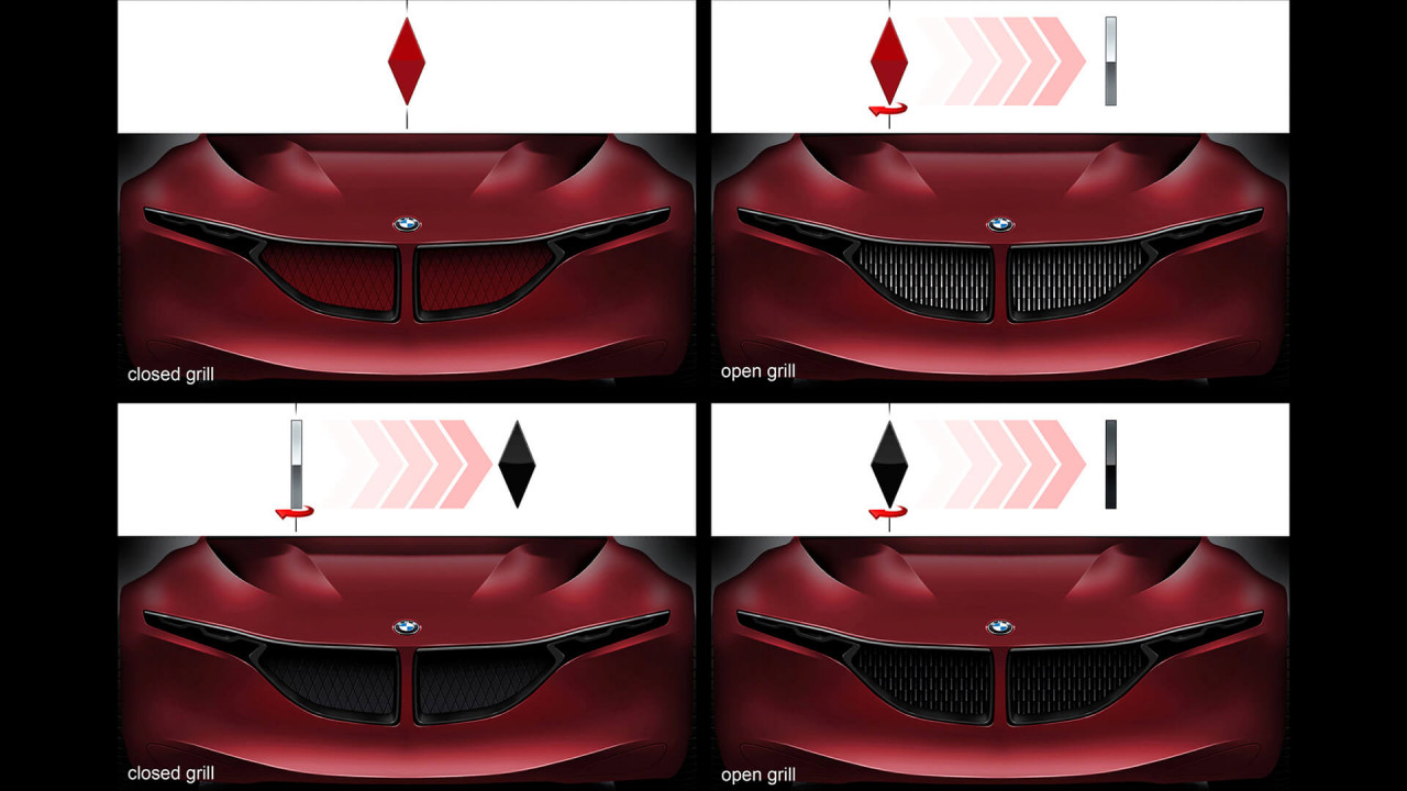 BMW GCS: Der Grill