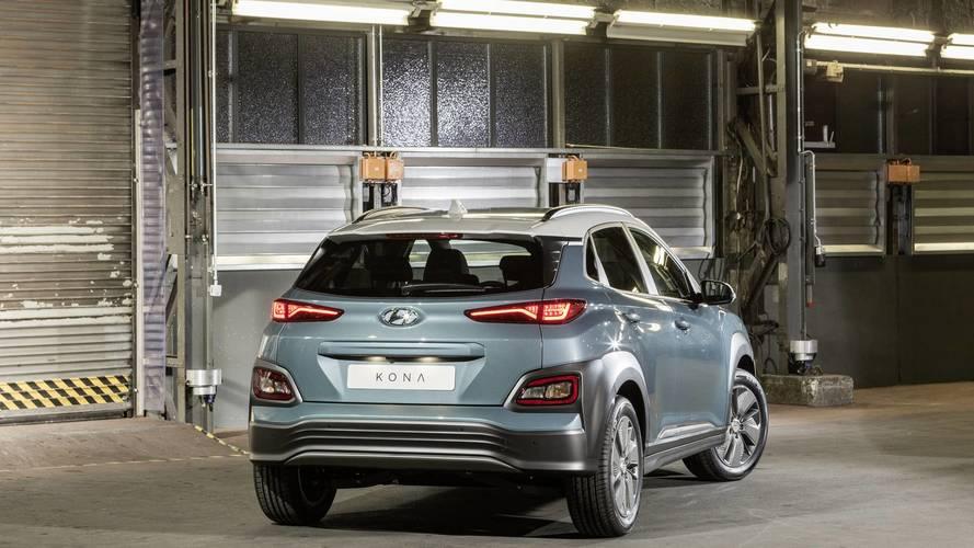La Hyundai Kona Electric vista dal vivo