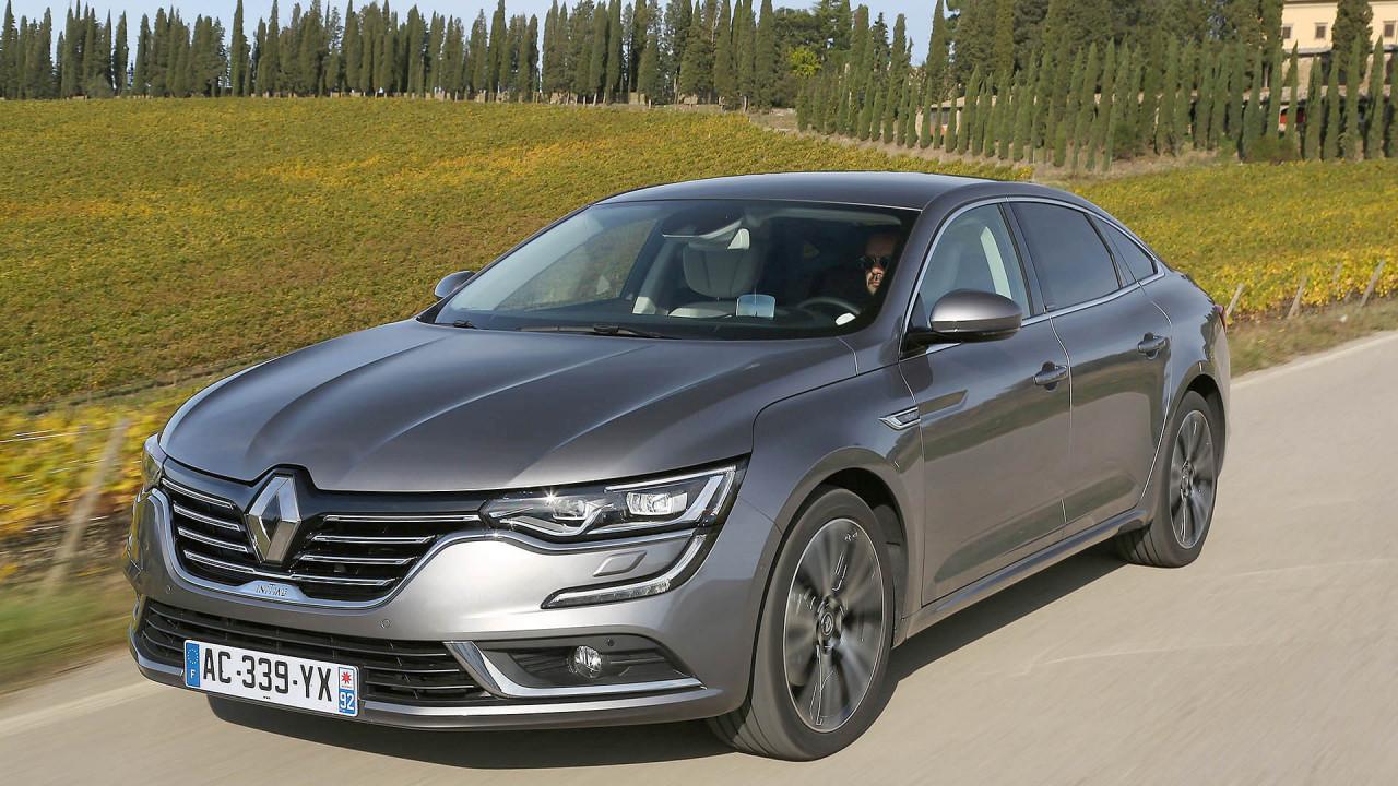 Renault Talisman Limousine: 4,85 Meter