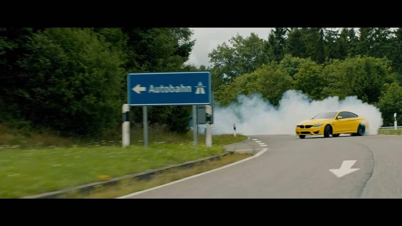 Pennzoil Drifting BMW at Nurburgring