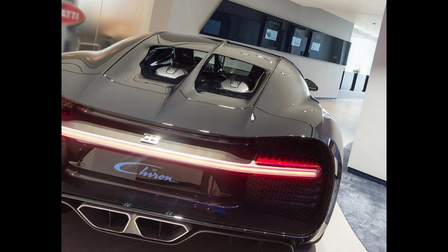 Bugatti Chiron, a Londra uno showroom senza precedenti